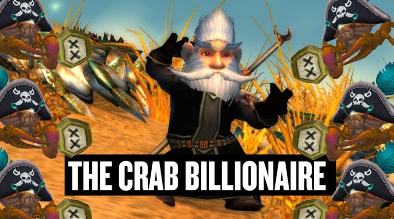 How Killing 3,523 Crabs In WoW Made Me An Extra $100k In RL