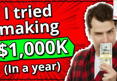 I tried making $1,000,000 in 12 months online