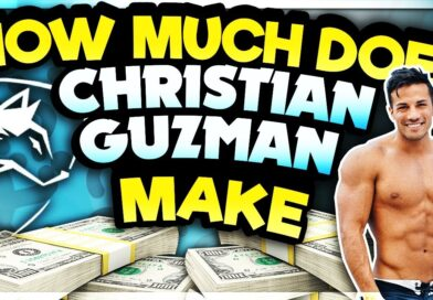 How Much CHRISTIAN GUZMAN Makes From ALL SOURCES (YouTube, Alphalete, Up Energy, ETC)