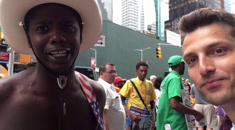 Marketing & Branding w/ Deadbeat + Naked Cowboy in Times Square NYC